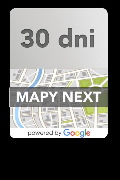Mapy NEXT – 30 dni